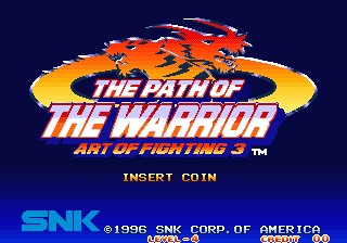 The Path of the Warrior - Art of Fighting 3 [Korean ver.] screenshot