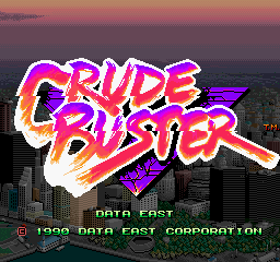 Crude Buster screenshot