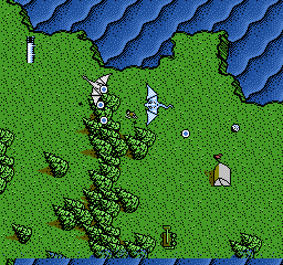 Advanced Dungeons & Dragons - DragonStrike [Model NES-DS-USA] screenshot