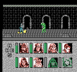 Advanced Dungeons & Dragons - Heroes of the Lance [Model NES-LQ-USA] screenshot