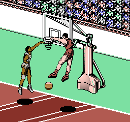 All-Pro Basketball [Model NES-A2-USA] screenshot