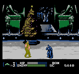 Batman Returns [Model NES-BX-FRA] screenshot