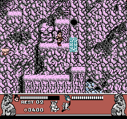 Conquest of the Crystal Palace [Model NES-7M-USA] screenshot