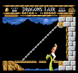 Dragon's Lair [Model NES-L9-USA] screenshot