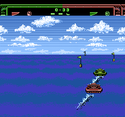 Eliminator Boat Duel [Model NES-6R-USA] screenshot