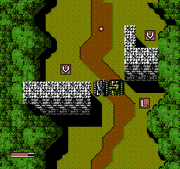 Iron Tank - The Invasion of Normandy [Model NES-IT-USA] screenshot