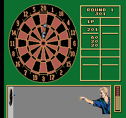 Magic Darts [Model NES-4R-USA] screenshot