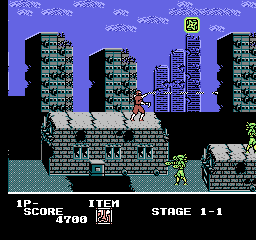 Ninja Crusaders [Model NES-N4-USA] screenshot