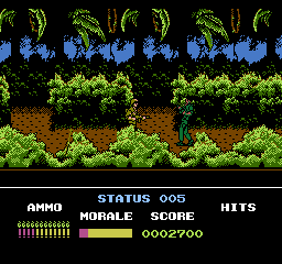 Platoon [Model NES-PU-USA] screenshot