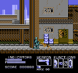 RoboCop screenshot