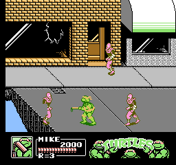 Teenage Mutant Ninja Turtles III - The Manhattan Project [Model NES-T3-USA] screenshot