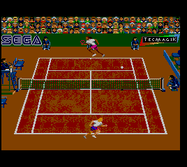 Andre Agassi Tennis [Model MK-27051-50] screenshot