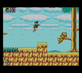 Deep Duck Trouble Starring Donald Duck screenshot