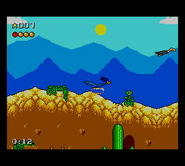 Desert Speedtrap Starring Road Runner and Wile E. Coyote screenshot