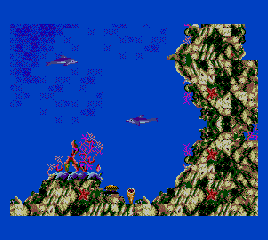 Ecco - The Tides of Time screenshot