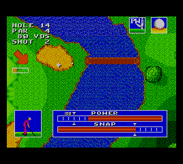 Sega World Tournament Golf screenshot