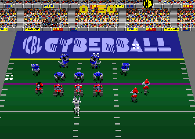 Cyberball - Football in the 21st Century screenshot