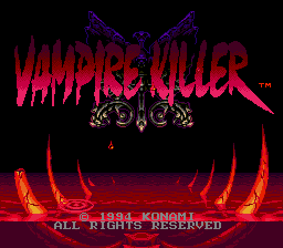 Vampire Killer [Model T-95043] screenshot