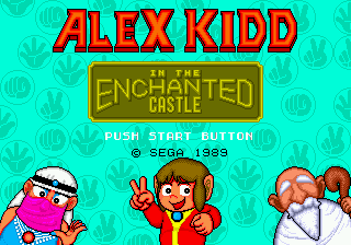 Alex Kidd in the Enchanted Castle [Model 1005-50] screenshot