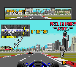 Ayrton Senna's Super Monaco GP II screenshot