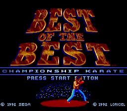 Best of the Best - Championship Karate screenshot