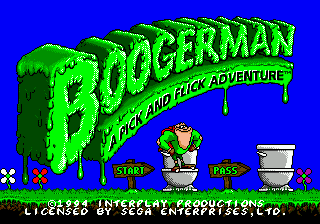 Boogerman - A Pick and Flick Adventure screenshot