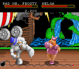 Clay Fighter screenshot
