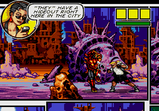 Comix Zone [Model 1569-50] screenshot