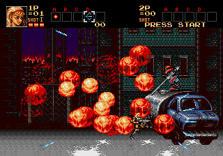 Contra - The Hard Corps screenshot