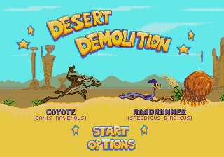Desert Demolition [Model 1062] screenshot