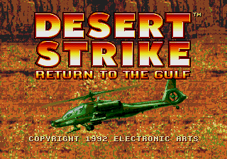 Desert Strike screenshot