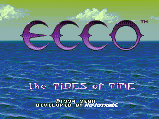 Ecco - The Tides of Time [Model 1553-50] screenshot