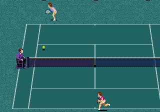 GrandSlam - The Tennis Tournament '92 screenshot