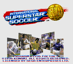 International Superstar Soccer Deluxe [Model T-95196-50] screenshot