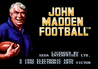 John Madden Football - Pro Football screenshot
