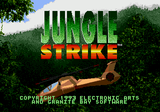 Jungle Strike - Uketsugareta Kyouki screenshot