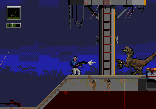 Jurassic Park - Rampage Edition [Model 670-5204-50] screenshot