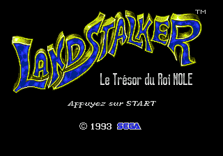 Landstalker - Le Trésor du Roi Nole [Model 1353-09] screenshot