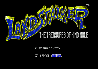 Landstalker - The Treasures of King Nole [Model 1353-03] screenshot