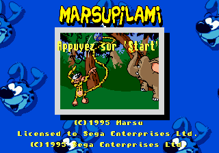 Marsupilami [Model 1841-50] screenshot