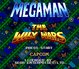 Mega Man - The Wily Wars screenshot