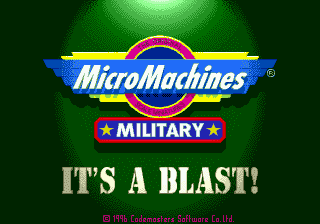 Micro Machines Military screenshot