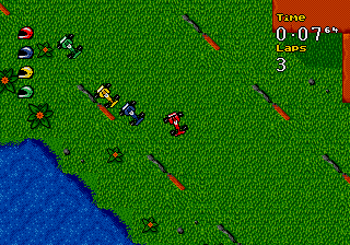 Micro Machines Turbo Tournament 96 screenshot