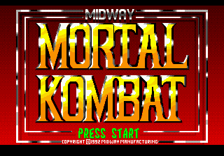 Mortal Kombat [Model T-81186-50] screenshot