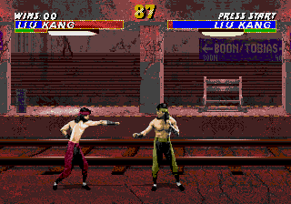 Mortal Kombat 3 [Model T-81536-50] screenshot