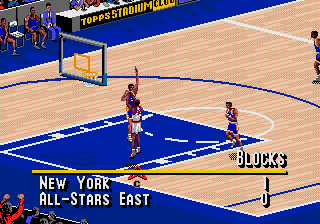 NBA Live 95 screenshot