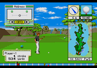New 3D Golf Simulation - Devil's Course screenshot