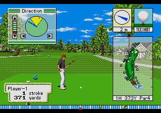 New 3D Golf Simulation - Pebble Beach no Hatou screenshot