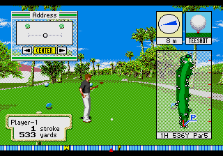 New 3D Golf Simulation - Waialae no Kiseki screenshot