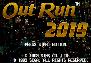 OutRun 2019 [Model 1118-50] screenshot